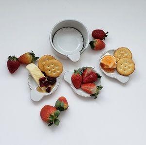 Magnolia Hearth & Hand | set of 4 taster plates